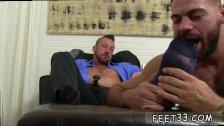 Gay twink foot job movie Hugh Hunter