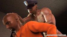 3d-Prizonier Futut De Un Politist
