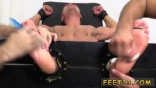 Young latex boys and gay twinks foot