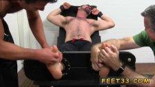 Smelling sleepy male feet and asian boys