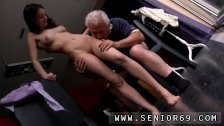 Old teacher and student first time Horny