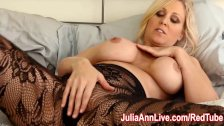 Milf Julia Ann Teases You With Lingerie & Helps You Cum!