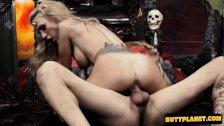 Big tits girl hardcore with cumshot