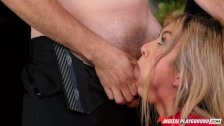 Nikki Benz & Tori Black judging girls blowjob skills in DPStar Season 3 Ep5