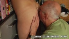 Old and young couples swinging first time