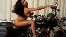 Alexis Amore biker babe