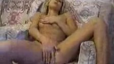 Young student stripping