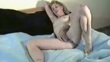 Shay fondling her pussy