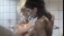 Lesbians in the shower 1