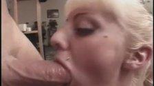 Blowing for a cum mousatche