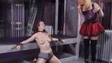 Mistress punishes her slavegirl