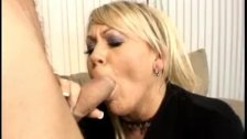 Blonde giving head