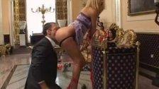 Worshipping her ass