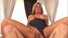 Blonde likes it hard