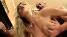 Blond hooker screwed in all holes