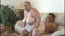 Fat busty blonde pussy fucked and jizzed