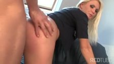 Police MILF anal fucked