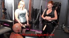 Daily Whipping FemDom Punishment Threesome