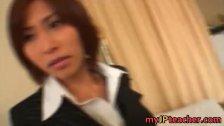 Akari Asahina Hot Japanese teacher hunts