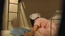 Hot Japanese nurse is up for some hot fun