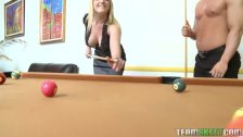 Strip billiards makes Tristyn Kennedy wet