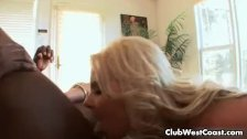 Very hot blonde babe Marie is enjoying