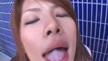 Super hot asian babes sucking, fucking