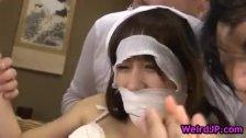 Hot nurse mika osawa fucking dildo