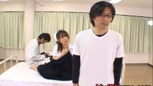 Ai Sayama Naughty Asian nurse is horny