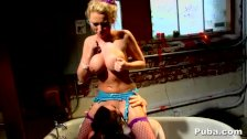 Jayden Jaymes devours tight twat blonde