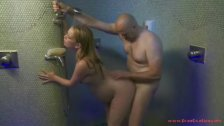 Pregnant shower sex