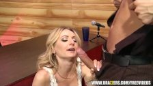 Natasha from Russia winning the talent contest - brazzers