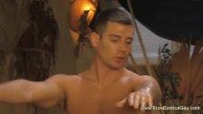Male genital massage
