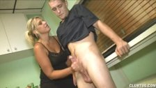 Mrs. Riley Punishes Godson