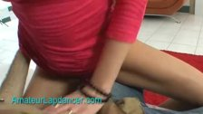 Horny czech housewife does wild lapdance