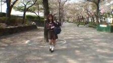 Mikan amazing Asian schoolgirl