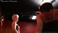 slave gets beaten up hard