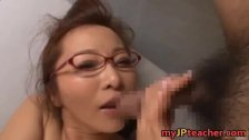 Kaori Hot Asian teacher enjoys sex
