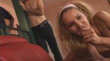 Mrs. Lennon takes a penis pounding