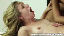 Slutty blonde wife sets up a threesome
