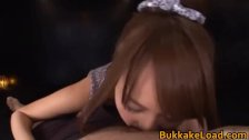 Asian beauty kissing