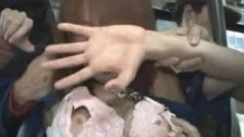Akari Hoshino hot model groped