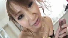 Anna Mizukawa Asian model enjoys