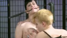 Wasteland BDSM 3-Way Sex - Masters Girls