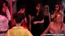 : Horny drunk women enjoy naked big cock