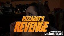 Pizzaboy takes revenge on the lazy bitch...