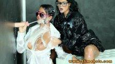 Victoria Blaze and Mia Manarote