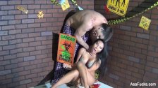 Behind the Scenes from Asa Akira vs. Zombie