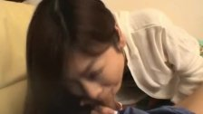 Ami Hinata sweet Asian schoolgirl enjoys