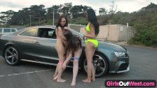 Girls out west - Hairy Taliah and her friends